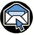 Picture of a pointer over an email icon
